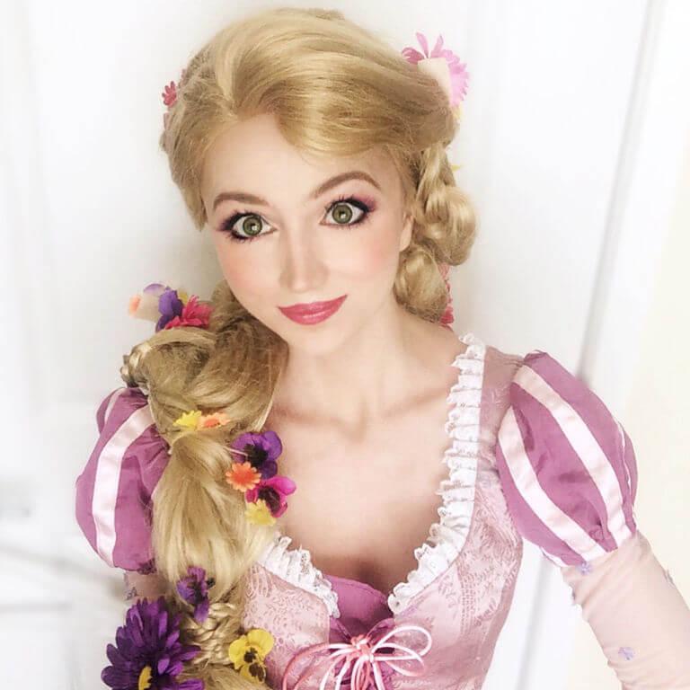 Sarah Ingle Disney princess-Rapunzel