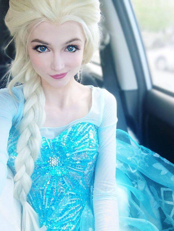Sarah Ingle Disney princess-elsa