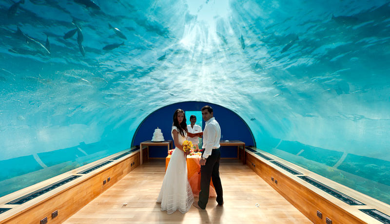 Top 7 World's Most Magnificent Underwater Hotels