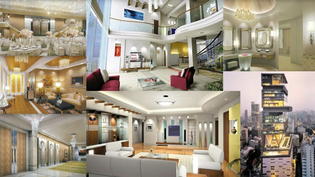 Things you didn t know about mukesh ambani s house antilla Pictures of new homes interior