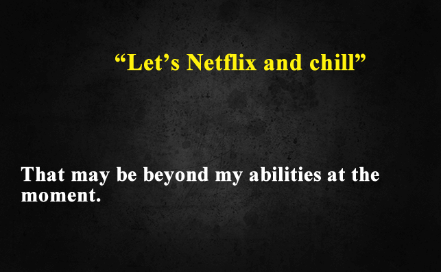 Funny Things To Ask Siri-Let's Netflix and chill