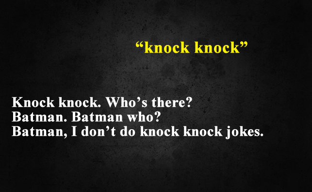 Funny Things To Ask Siri-Knock Knock