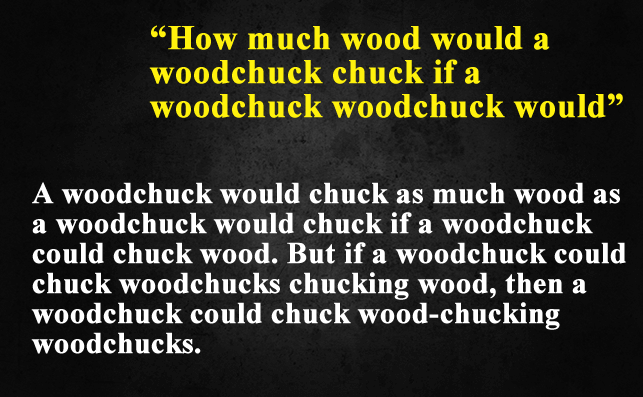 Funny Things To Ask Siri-How much wood would a woodchuck chuck if a woodchuck woodchuck would