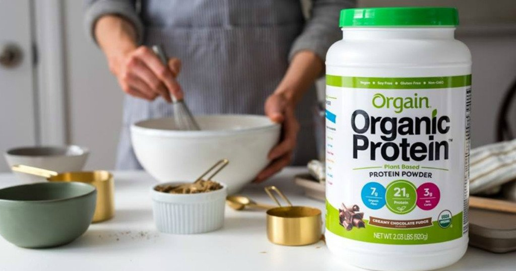 Organ Organic Protein Plant-based Powder