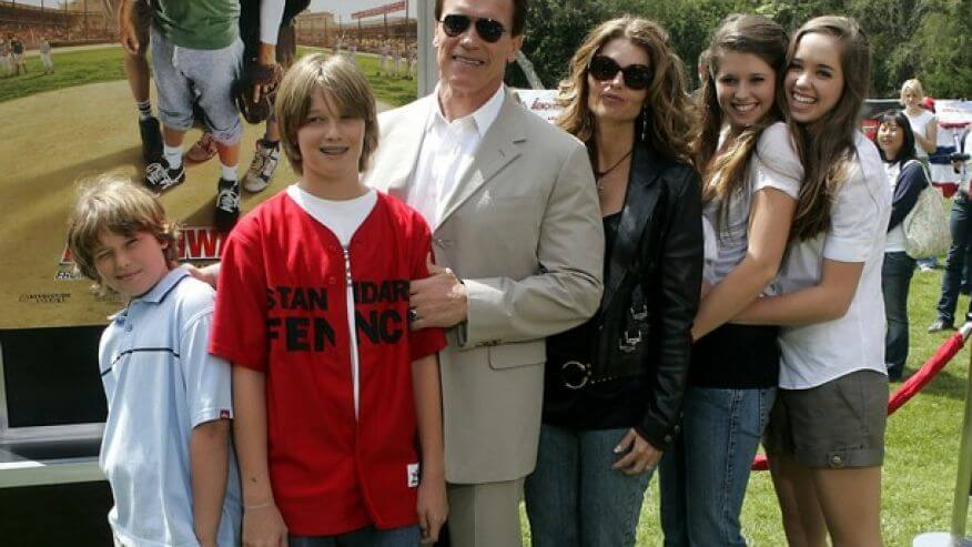 Arnold Schwarzenegger children