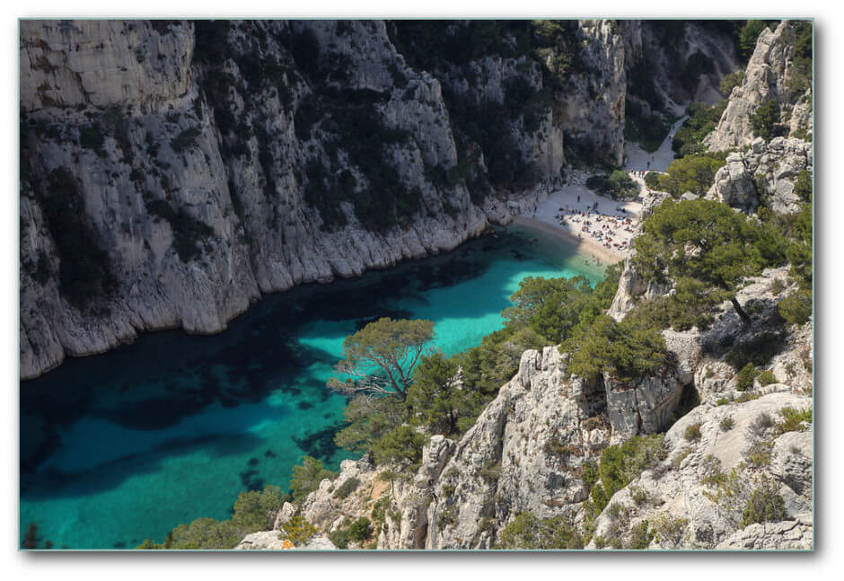35 Places To Swim In The World's Clearest Water-Calanque de Sormiou, France