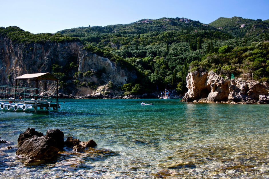 35 Places To Swim In The World's Clearest Water-Corfu, Greece