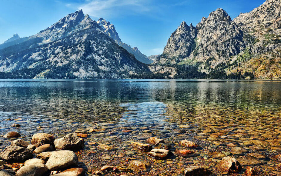 35 Places To Swim In The World's Clearest Water-Jenny Lake, Wyoming