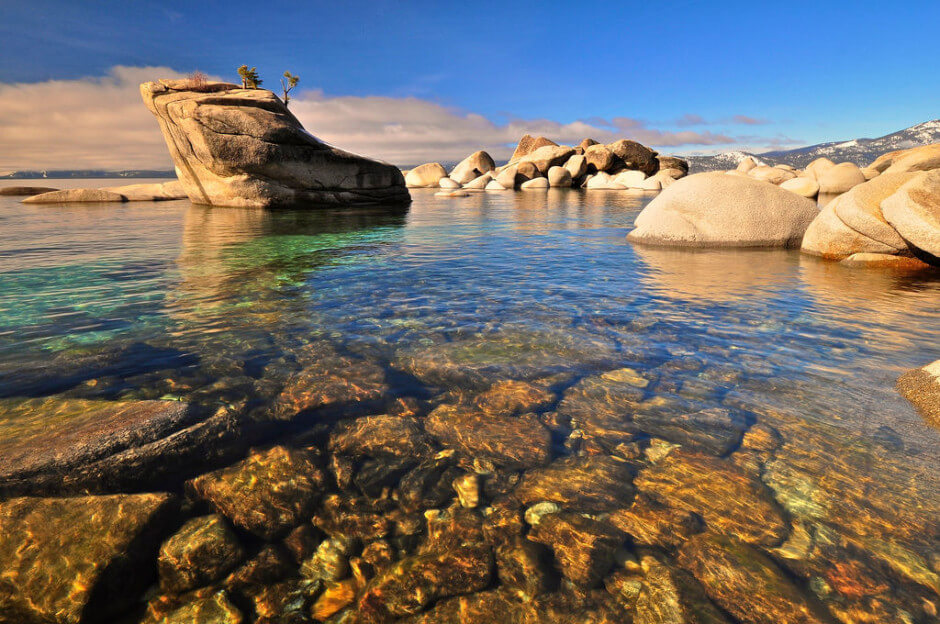 35 Places To Swim In The World's Clearest Water-Lake Tahoe, Nevada