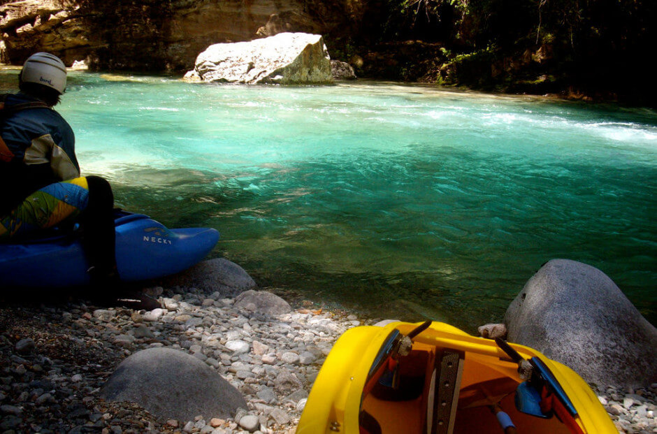 35 Places To Swim In The World's Clearest Water-Rio Azul, Argentina