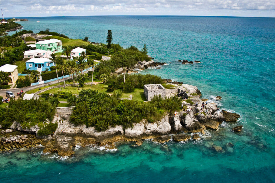 35 Places To Swim In The World's Clearest Water-St. George, Bermuda