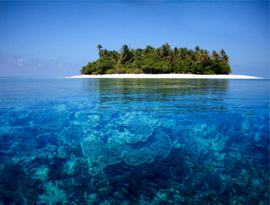 35 Places To Swim In The World's Clearest Water-The Maldives