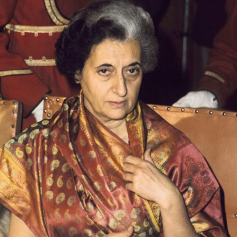 Indira Gandhi - Oxford University Notable Alumni
