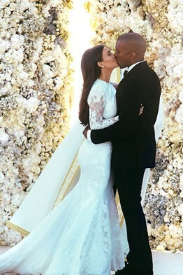 Kanye West - Kim Kardashian Wedding