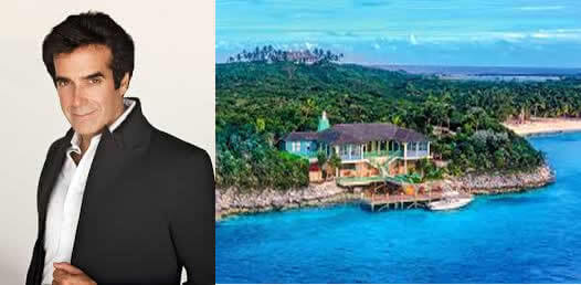Most Expensive Private Islands Owned By Celebrities- David Copperfield
