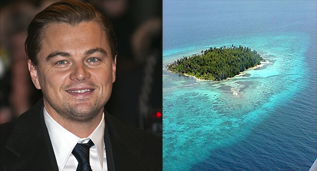 Most Expensive Private Islands Owned By Celebrities- Leonardo Di Caprio