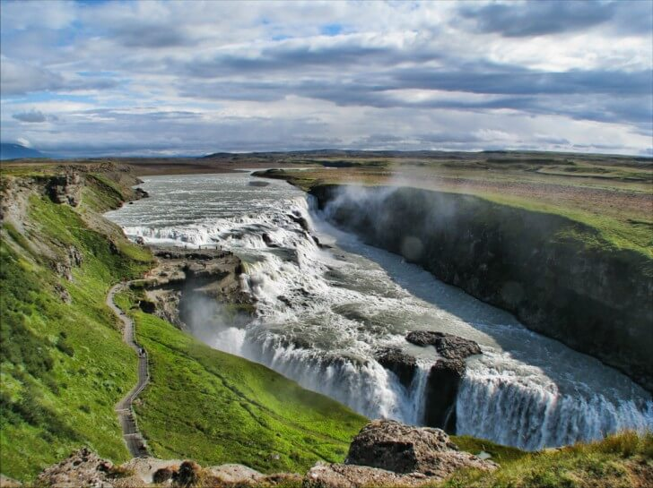 The Most Beautiful Places In The World You Didn't Know Existed-Gullfoss