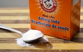 baking soda to get rid of dandruff