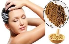 fenugreek seeds to get rid of dandruff
