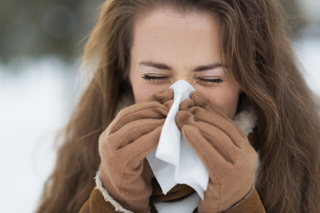 Blow Your Nose to Get Rid Of A Stuffy Nose