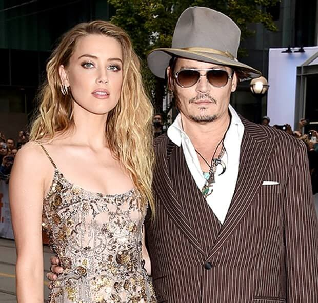 Johnny Depp Wife Amber heard