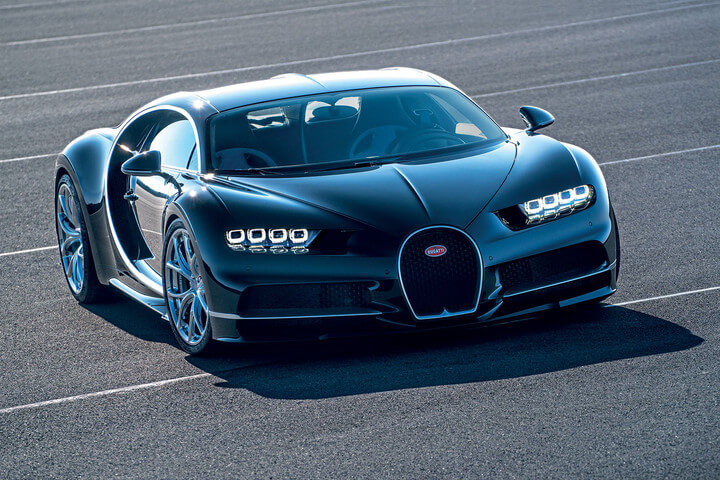 Bugatti Chiron most expensive car