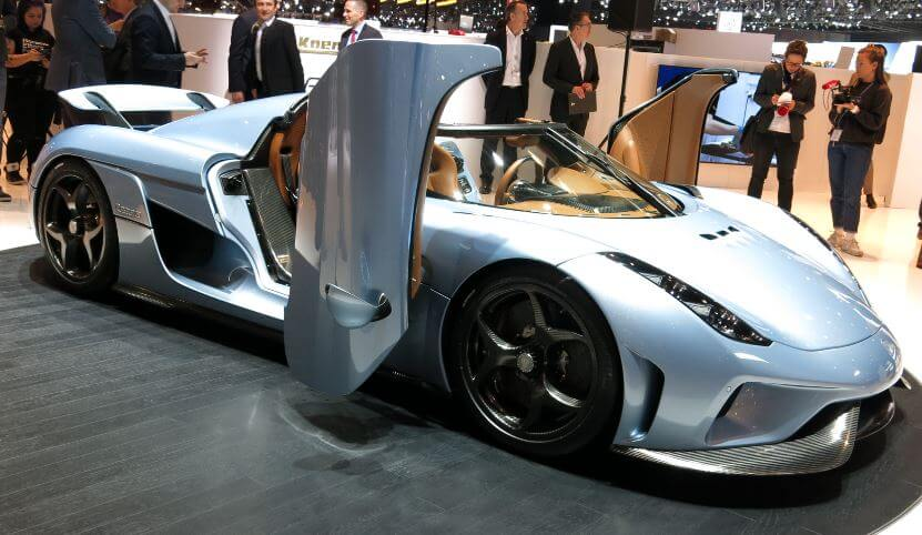 Koenigsegg Regera most expensive car