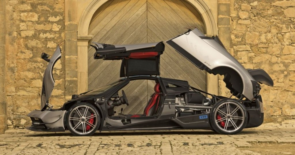 Pagani Huayra BC most expensive car