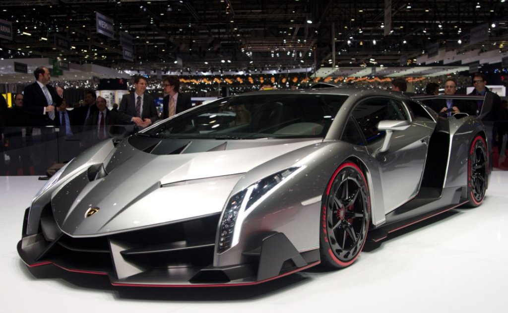 most expensive cars Lamborghini Veneno