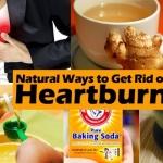 natural ways to get rid of heartburn