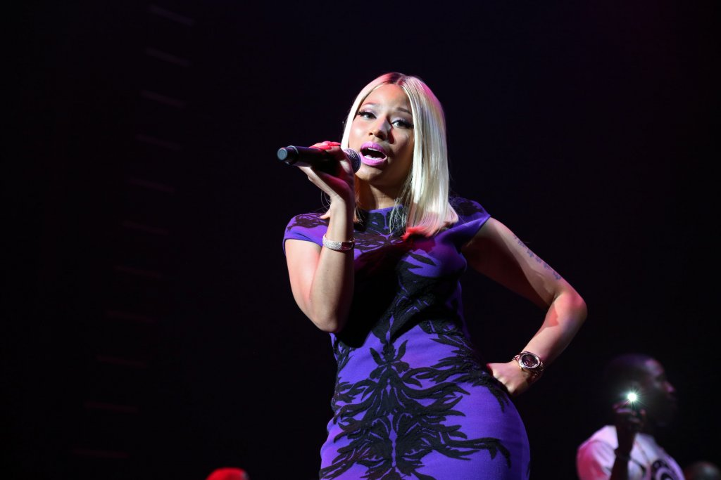 Minaj in Hip Hop Chart earnings