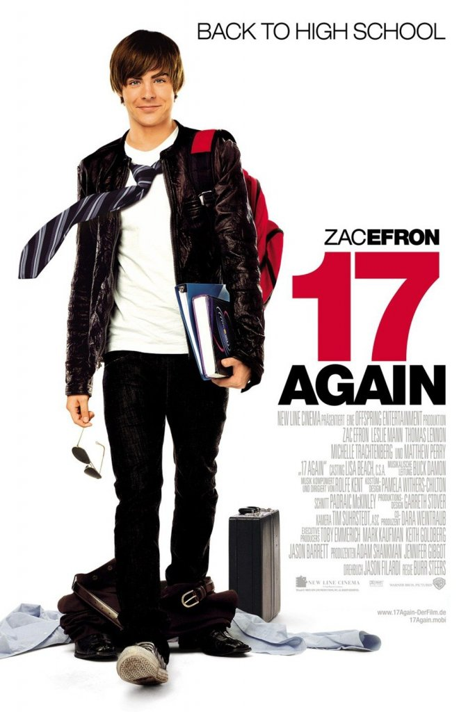 List of 2009 comedy Hollywood films-17 again