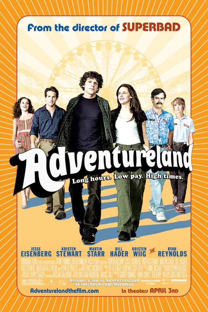 List of 2009 comedy Hollywood films- Adventureland