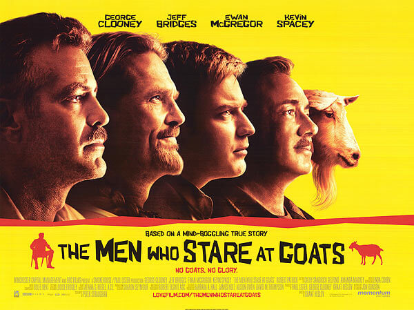 List of 2009 comedy Hollywood films - the men who stares at goats