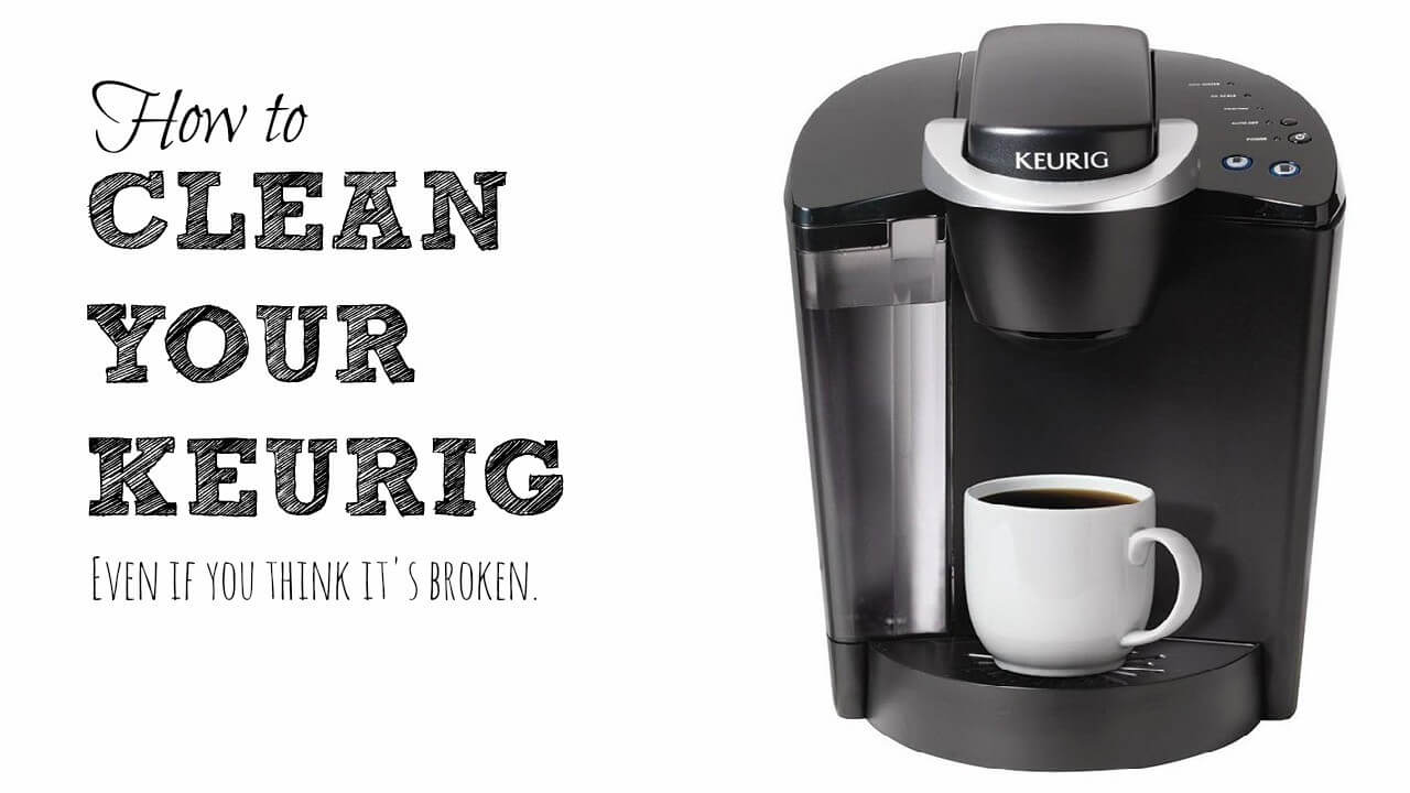 Keurig Coffee Maker Instructions For Cleaning : How to Clean or Descale Keurig & Other Coffee Maker