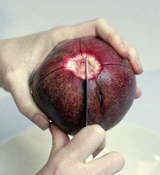 Cut a Pomegranate