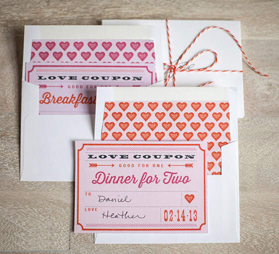 Personalized-vouchers-of-love for him or her
