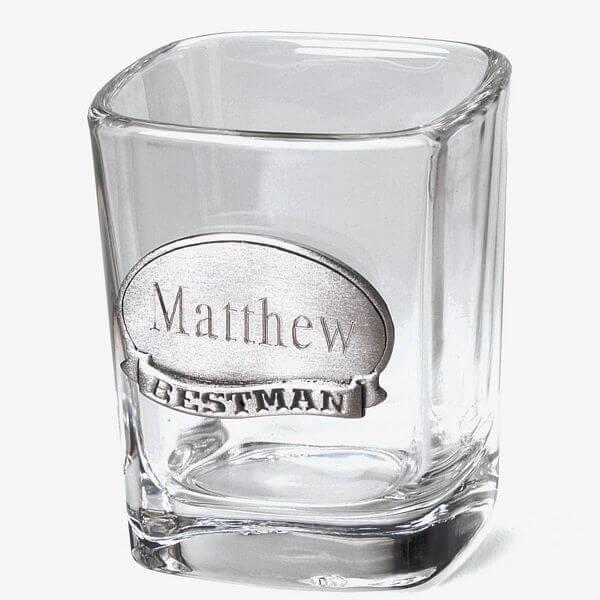Pewter-Medallion-Shot-Glass for him or her