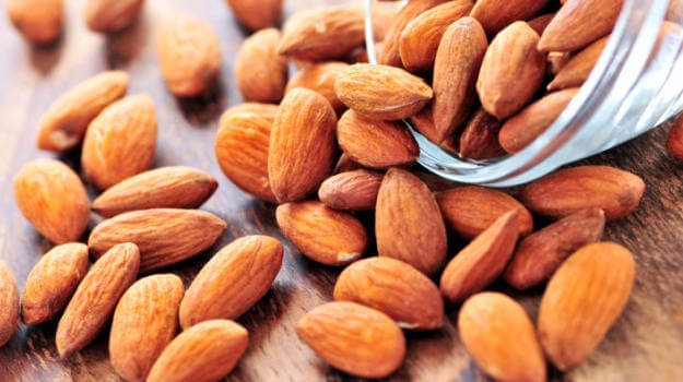almonds - Slow Down the Aging Process