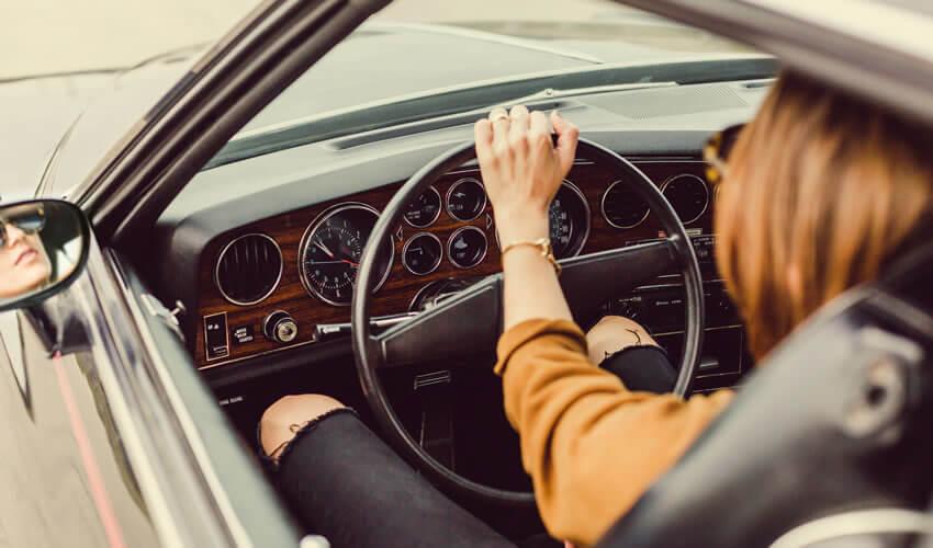 Driving posture