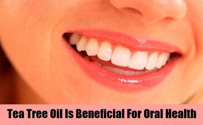 Tea Tree oil uses for oral problems