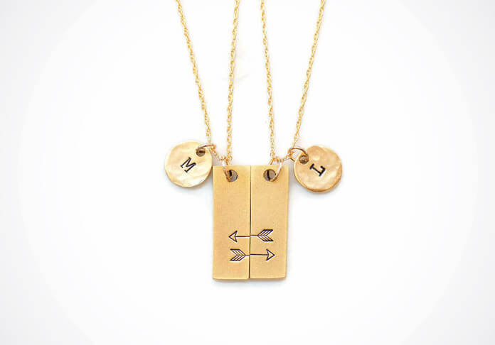 Personalized-Matching-Necklaces