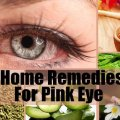 Home Remedied For Pink Eye