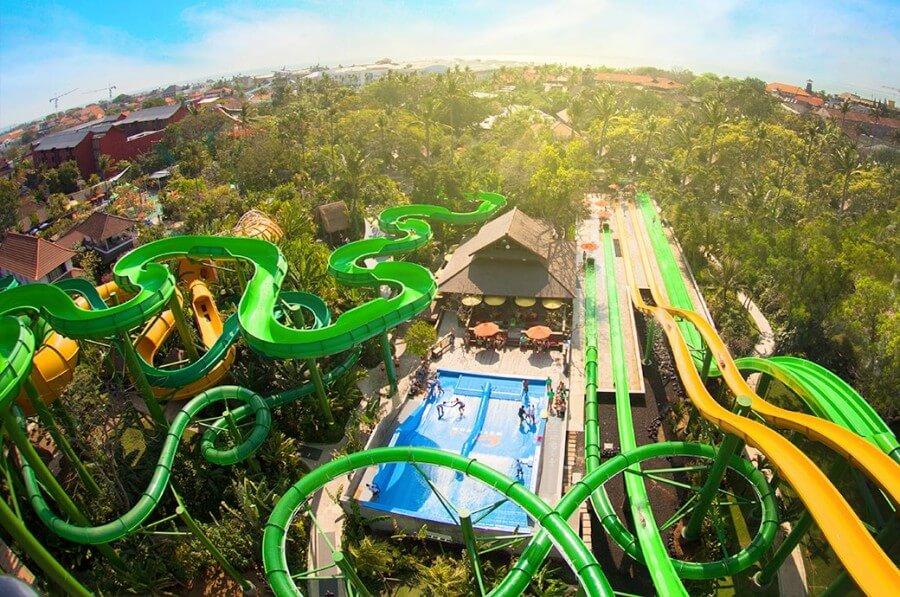 things to do in bali, Waterbom