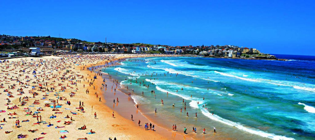 things to do in sydney: Bondi Beach