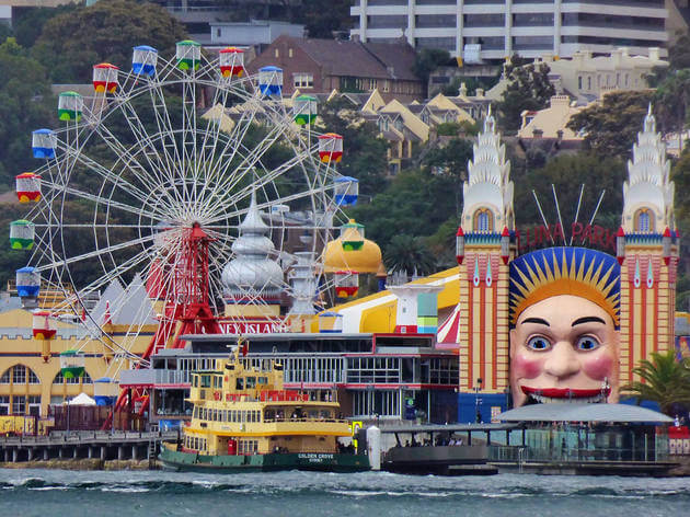things to do in sydney: Luna Park