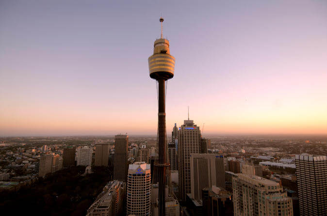 things to do in sydney: Sydney Tower