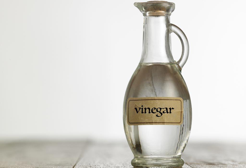 Substitute of baking soda: vinegar