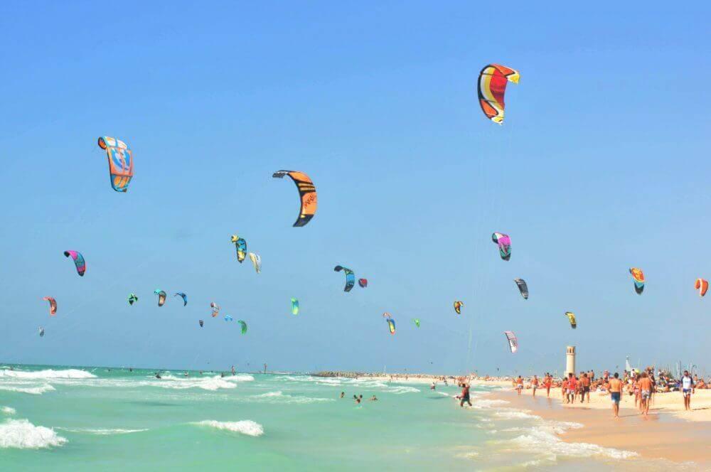 things to do in dubai: kite beach