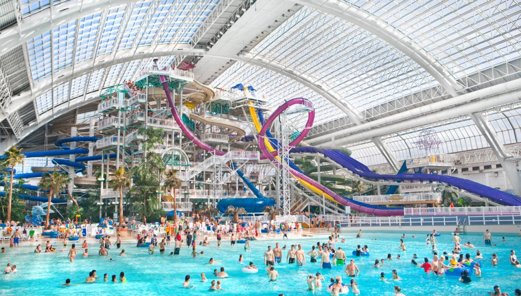 Aquaparks in the World